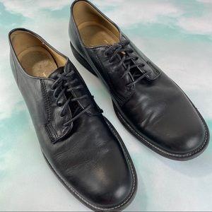 Frye Casual Dress Leather Oxfords Black SZ 9.5D